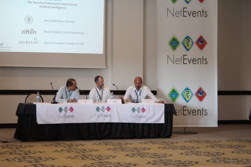 Netevents 2018 Albufeira AI in security panel